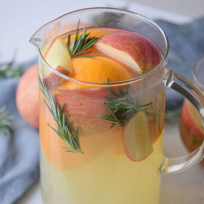 Autumn Harvest Punch Recipe with fresh fruit would be delicious either cold or warm! Serve it up chilled or simmer in the slow cooker crockpot.