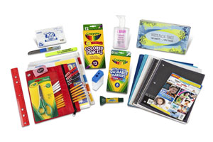 Crayola Back to School Pack Sixth - Eighth Grade