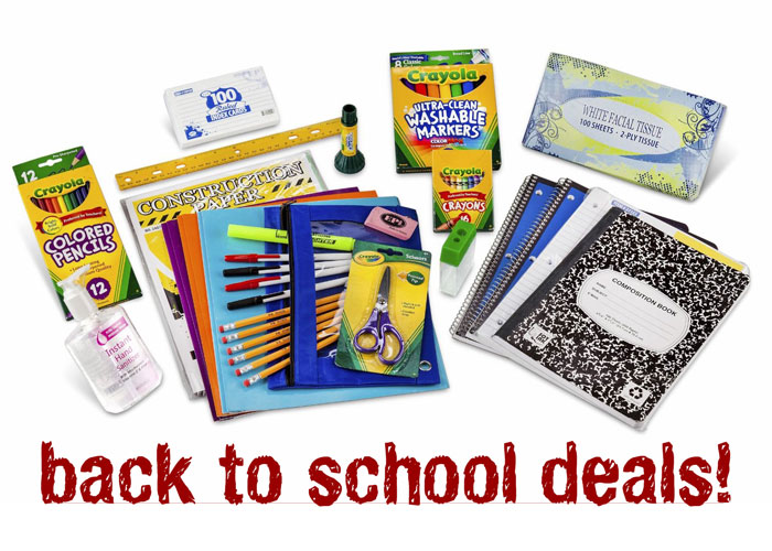 Back to School Deals - Crayola Classroom Packs
