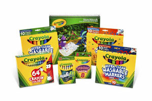 Crayola Back to School Pack Crayons and Washable Markers