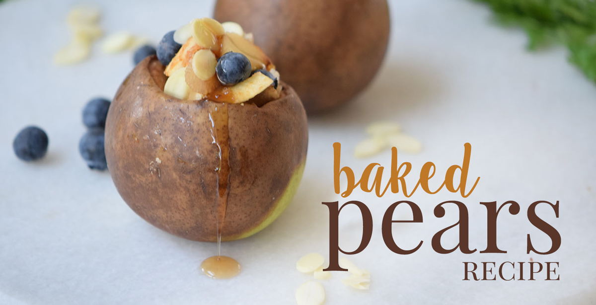 Delicious Baked Pears Recipe
