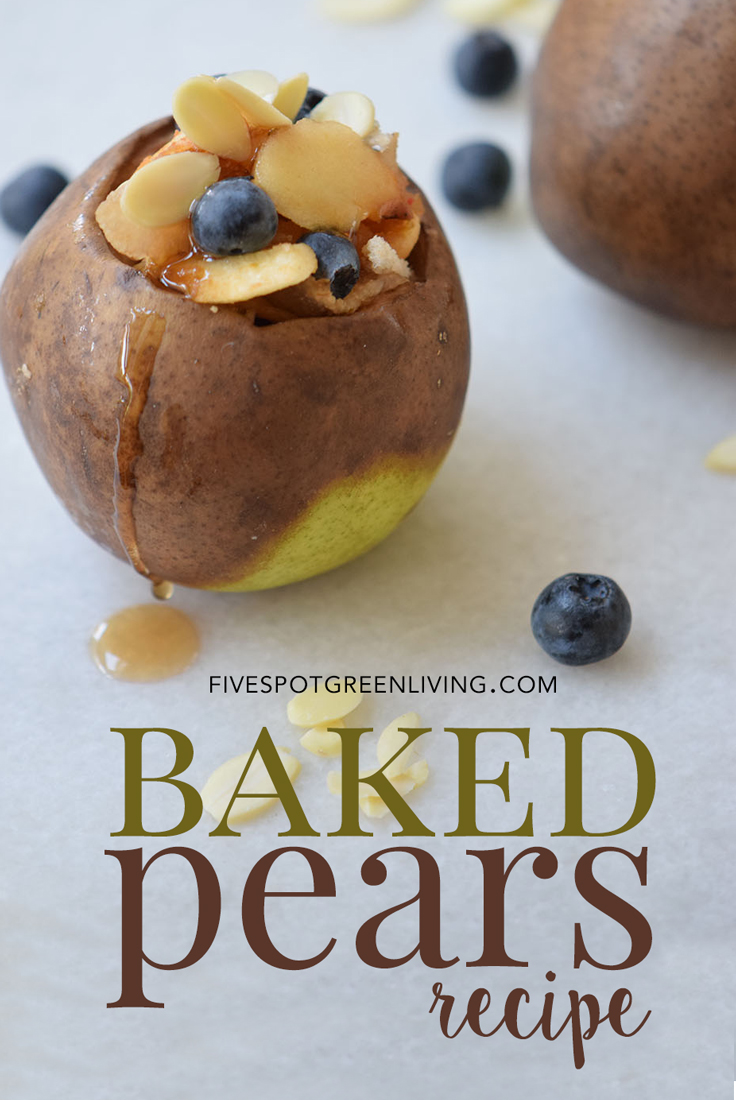 Healthy and Delicious Baked Pears Recipe