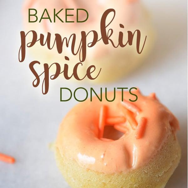 Baked Pumpkin Spice Doughnuts recipe