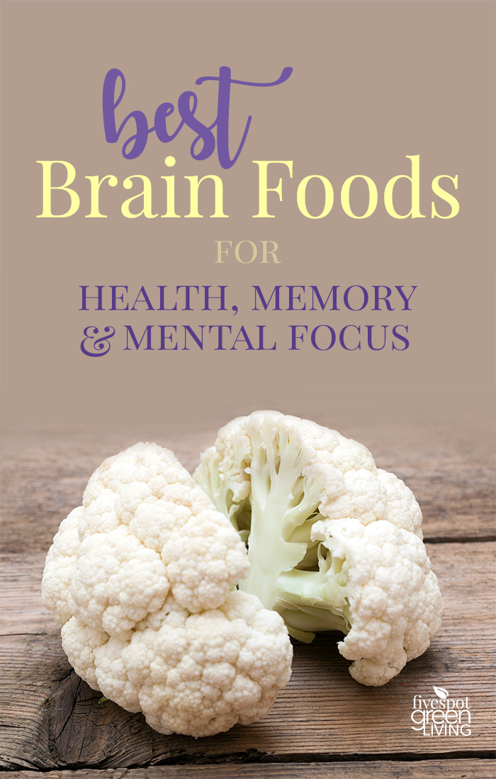 Best Brain Foods for Health, Memory and Mental Focus