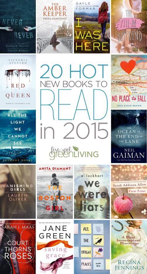 20 Hot New Books to Read