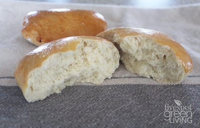 Easy Homemade Bread Sandwich Roll Baked