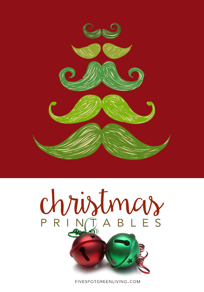 Free Christmas Printables for wall art or gifts