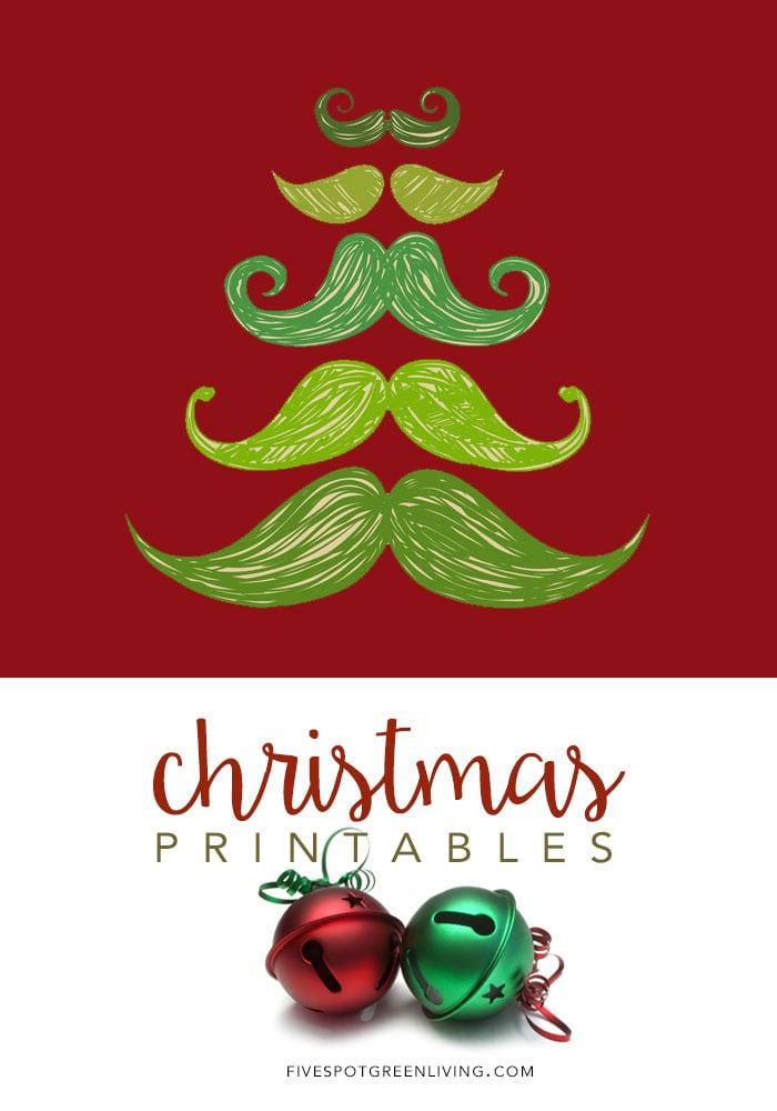 Free Christmas Printables for wall art or gifts