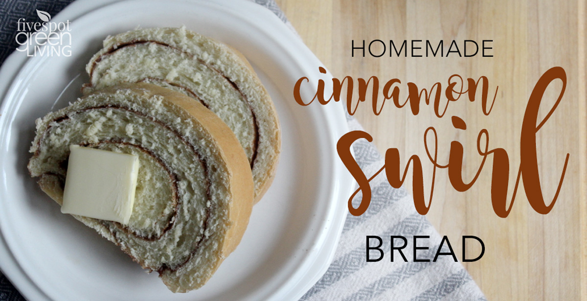 Easy Homemade Cinnamon Bread