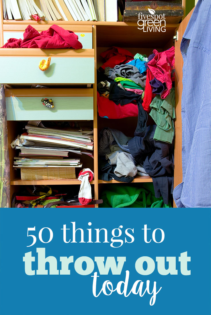 50 Things to Get Rid of Now to Declutter Your Life