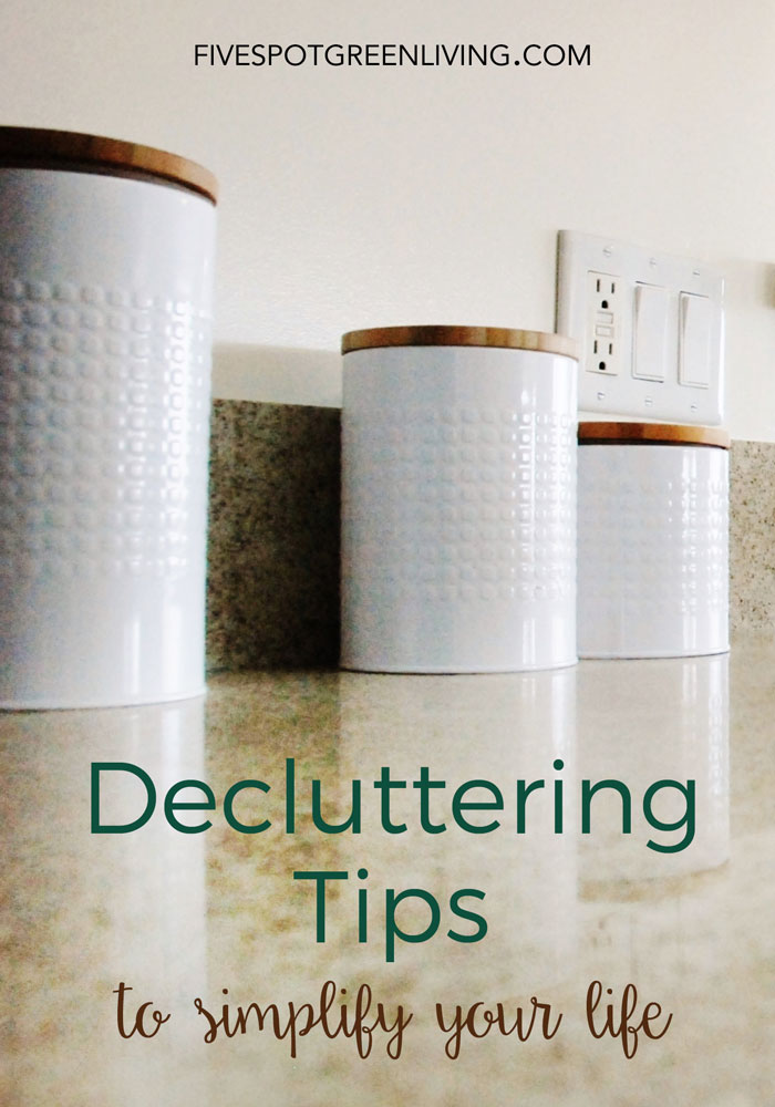 Are you overwhelmed with clutter? Try these 10 Decluttering Tips and regain your sanity.