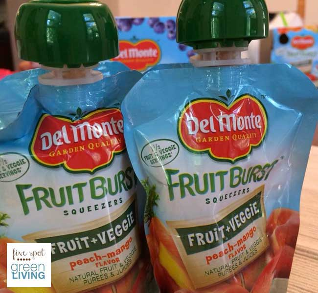 Back to School Lunchbox and Snack Ideas with Del Monte