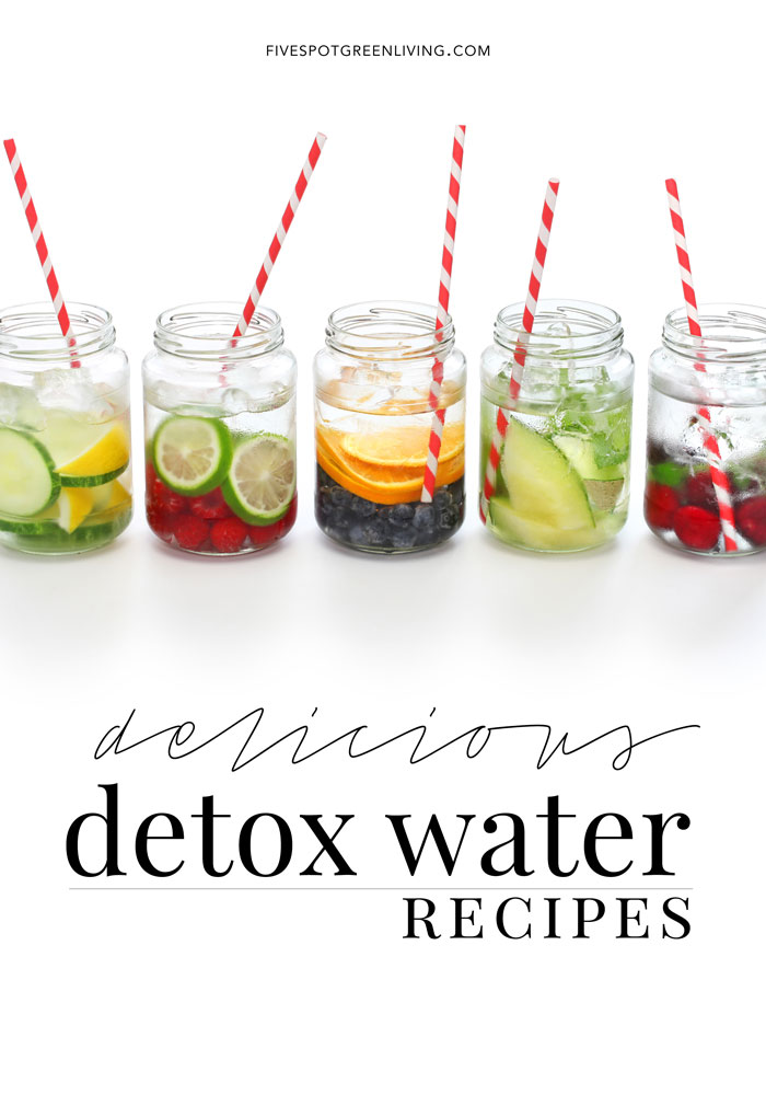 Do you drink enough water during the day? Here are some Infused Detox Water Recipes to try and you will never get bored of water.
