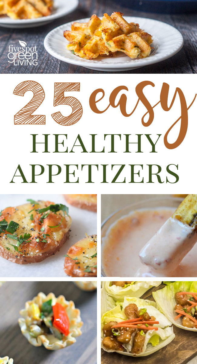 These easy healthy appetizers are just the right thing to kick off any event or simply for the main course!