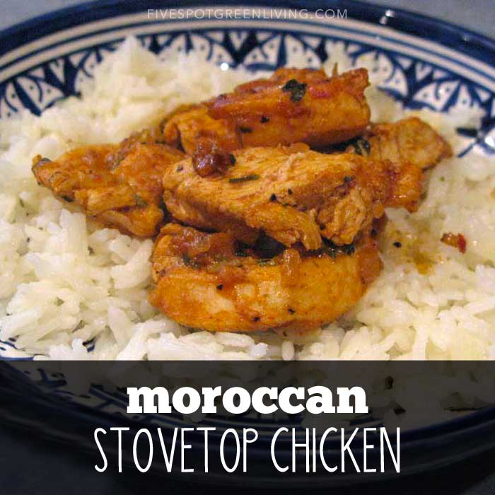 Authentic moroccan chicken recipe with rice five spot green living authentic moroccan chicken recipe with rice forumfinder Gallery