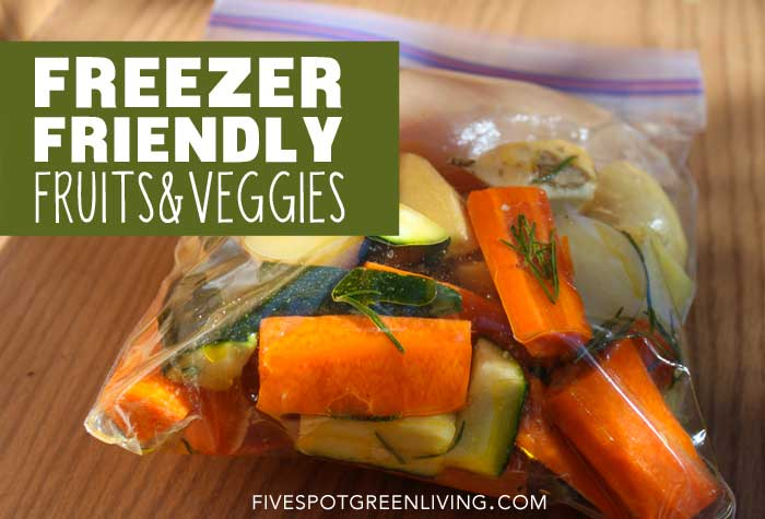Meal Planning with Freezer Friendly Fruits and Veggies
