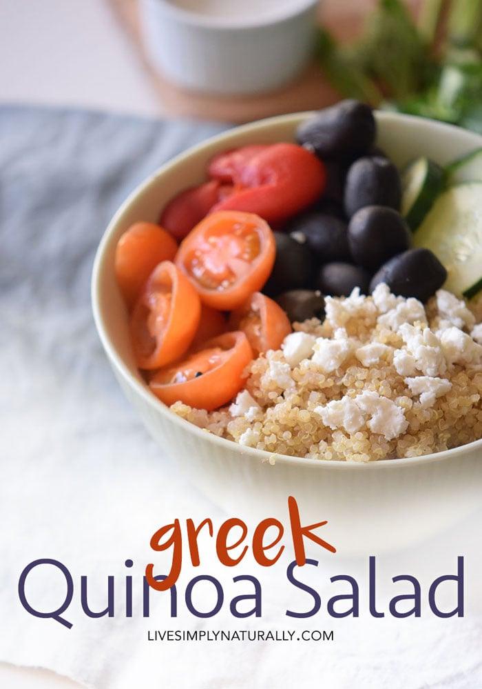 Easy Greek Quinoa Salad Recipe