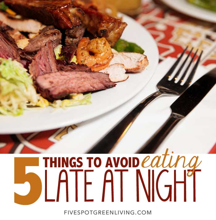 5 Things to Avoid Eating Late at Night
