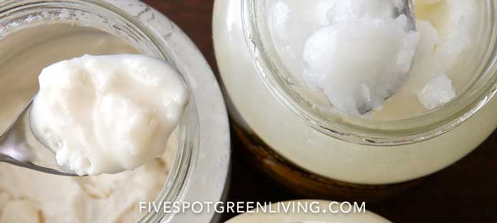 5 Ways to Use Coconut Oil for Skin FiveSpotGreenLiving.com