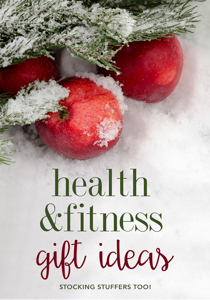 Health and Fitness Gift Ideas and Stocking Stuffers for those on your list that like to take care of themselves