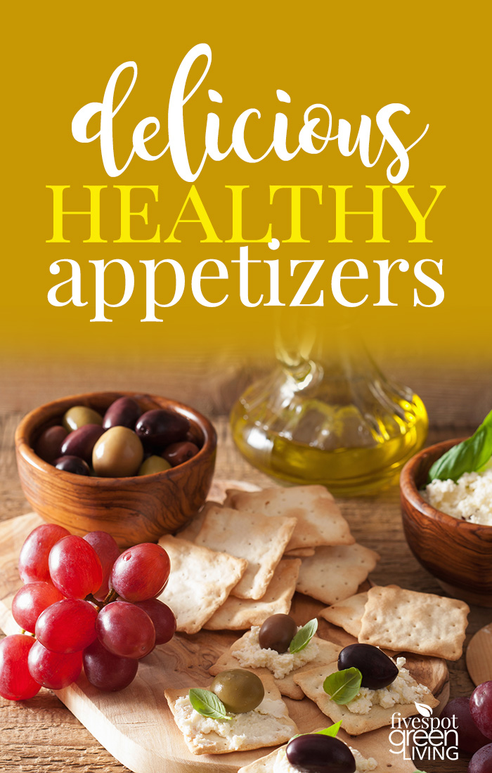 Host your next cocktail or dinner party with these light but delicious healthy appetizers.