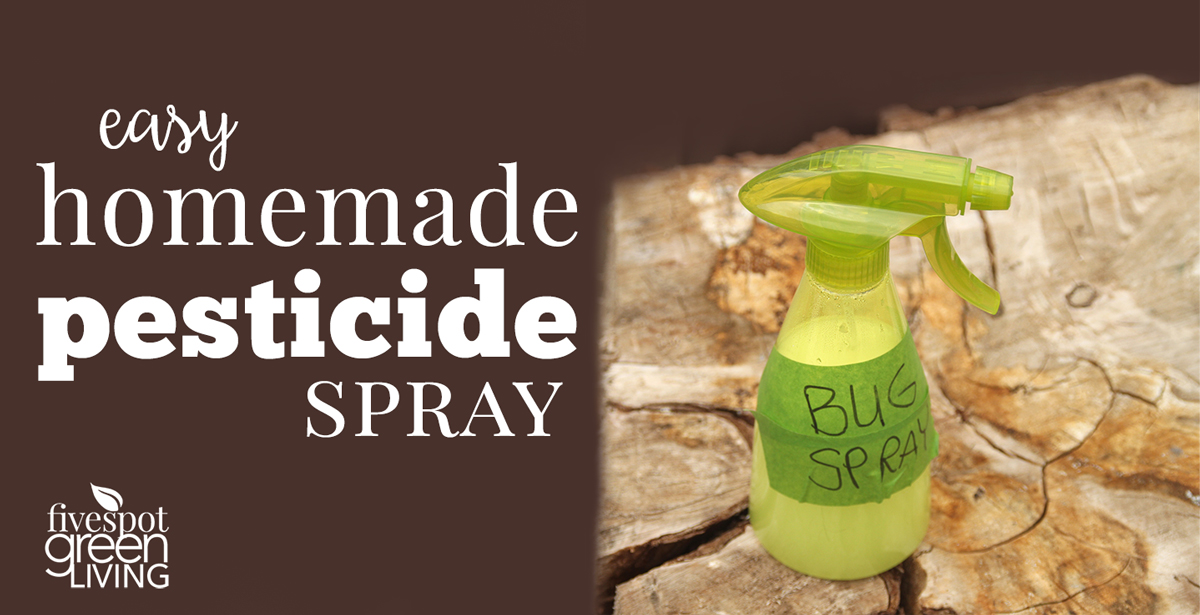 How to Make Your Own Easy Homemade Bug Spray