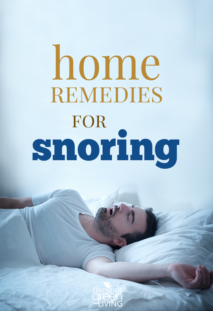 Home Remedies for Snoring - Sleep Better Tonight!