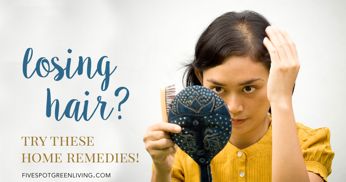 If you are losing hair, try these home remedies!