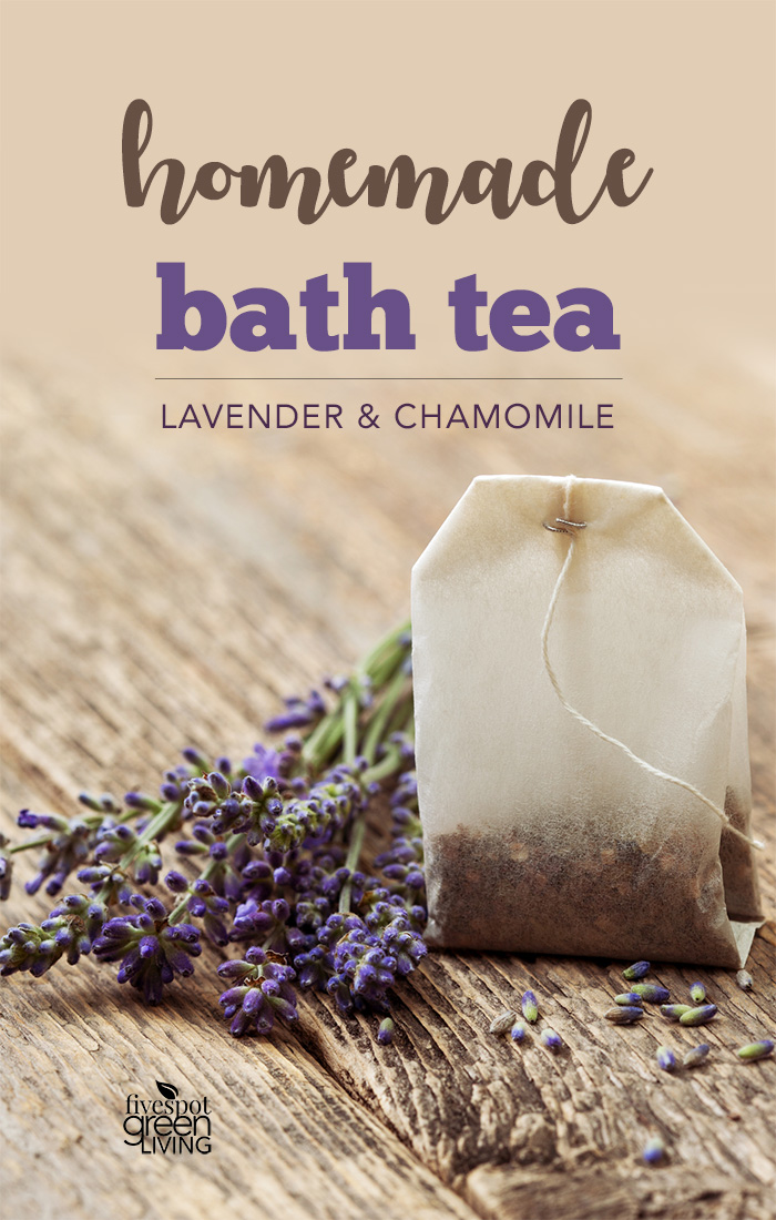 Easy Bath Salts Recipe with Lavender and Chamomile