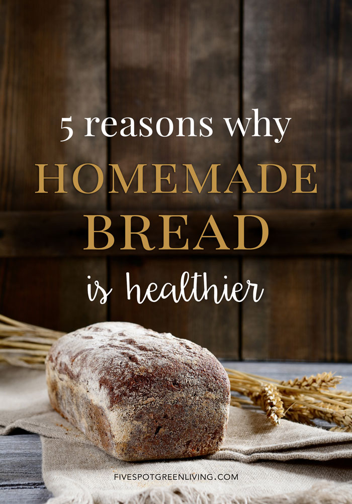 Is homemade bread better for you? Is homemade bread healthier? Find out the answers to these common questions!