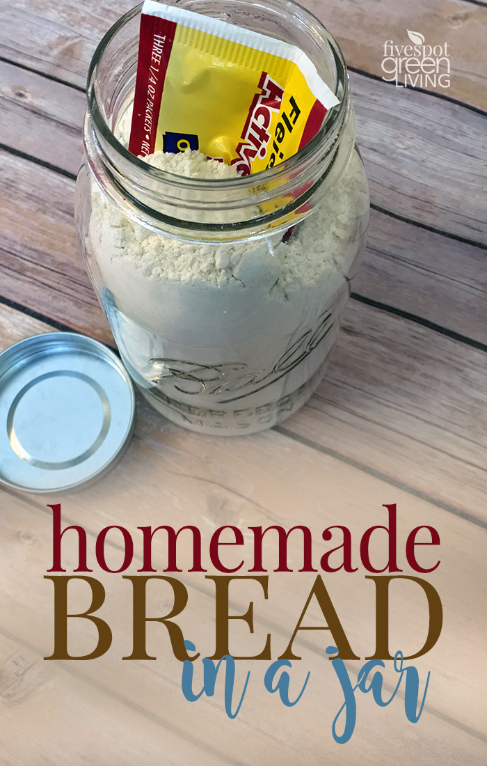 Homemade Bread in a Jar with Printable Tag