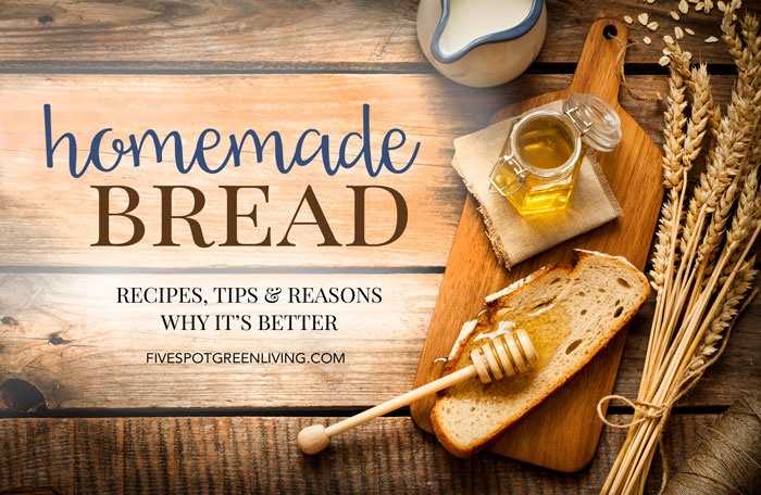 is homemade bread better for you