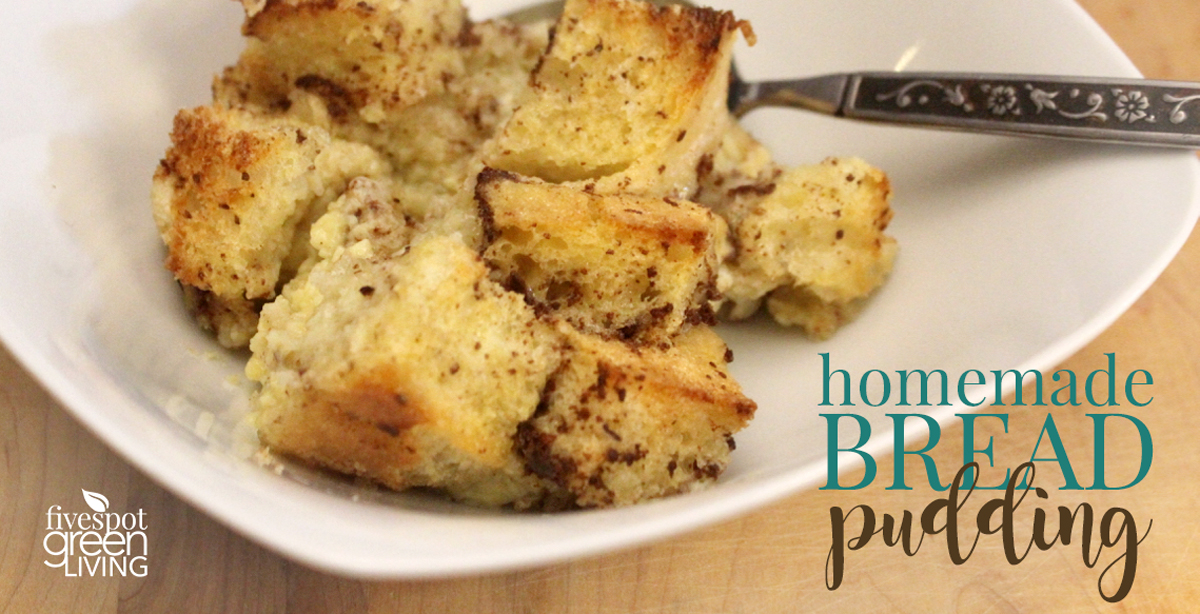 Easy Homemade Bread Pudding Recipe
