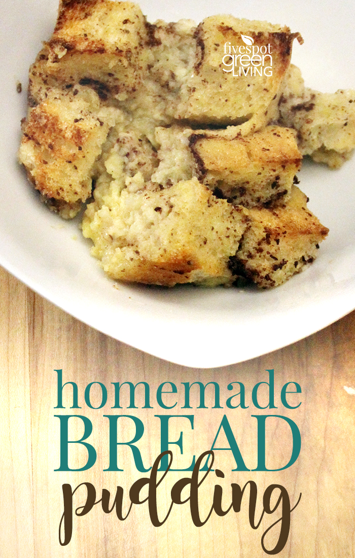 Easy Homemade Bread Pudding Recipe the whole family will love!