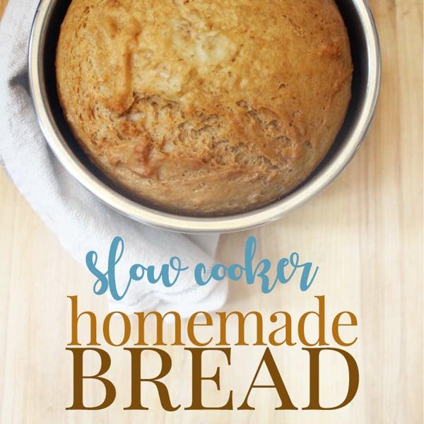 crockpot homemade bread