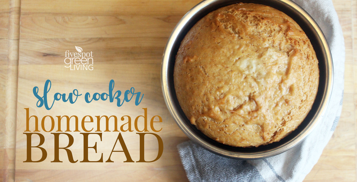 Easy Homemade Bread in the Slow Cooker