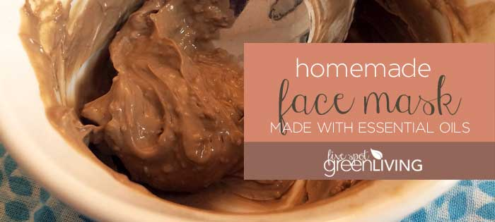 Homemade DIY Face Mask with Essential Oils