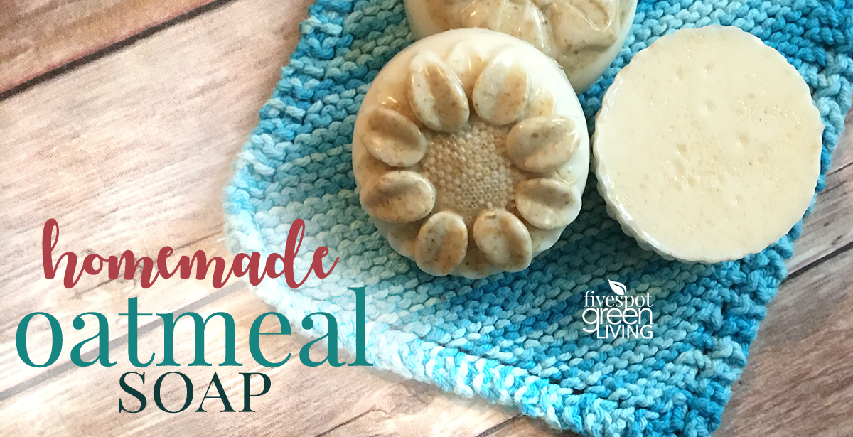 Homemade Oatmeal Soap Recipe