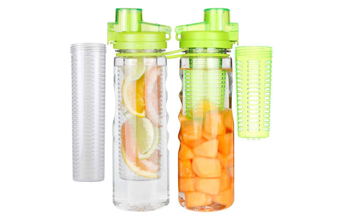 25oz Infuser Water Bottle Sport Flip-top