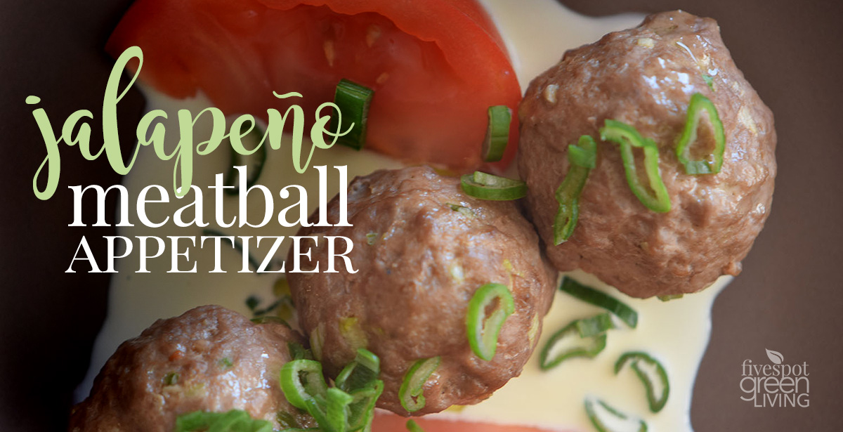 Jalapeño Meatball Appetizer Recipe for Oven or Slow Cooker