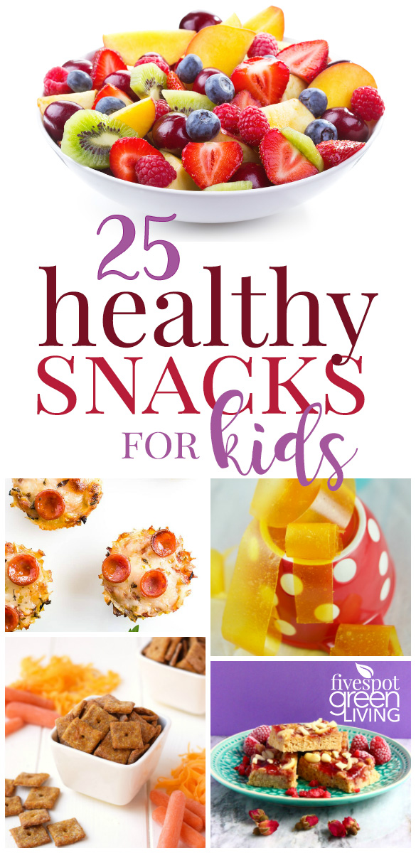 Here are 25 Fun Healthy Snacks that your kids will actually WANT to eat after school!