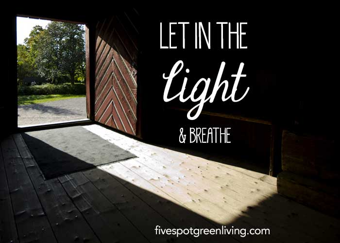 Standing Up to Grief - Let in the Light and Breathe