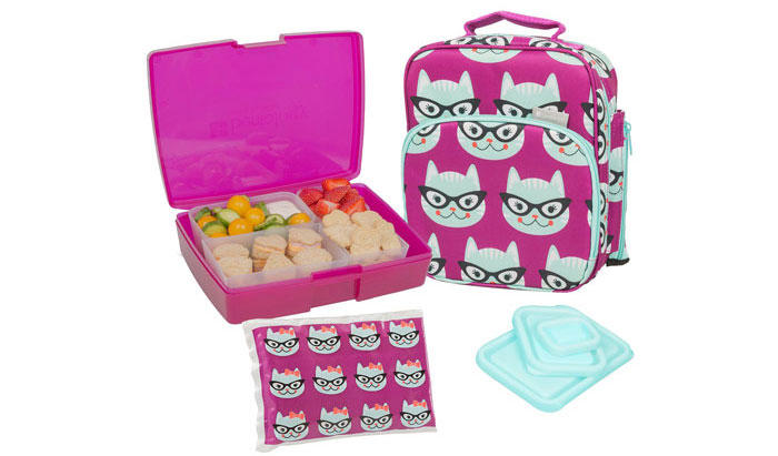 Bentology Lunch Bag and Box Set for Girls