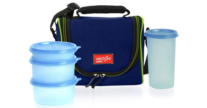 Milton LUNCH BAG – Insulated Lunch Box with Containers and Water Bottle