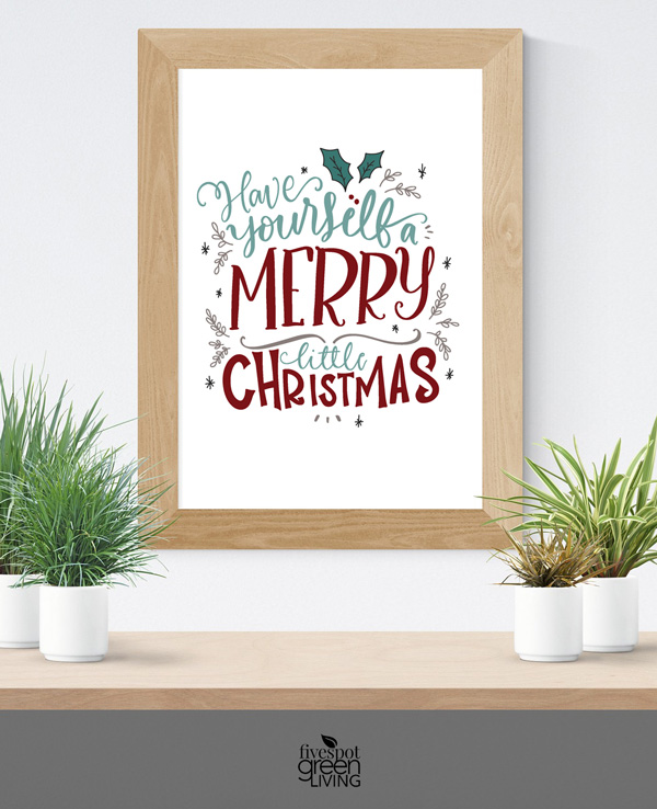 Festive Holiday Printable