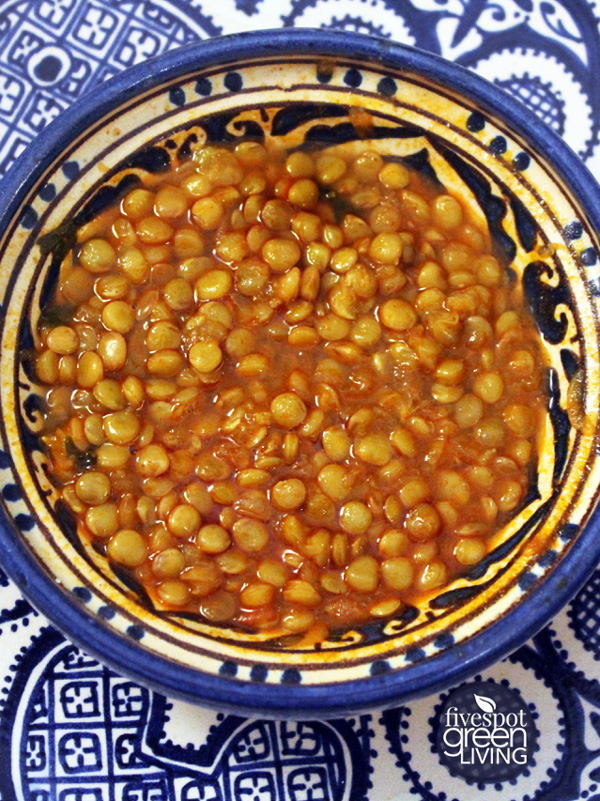 Easy and Healthy Moroccan Lentils