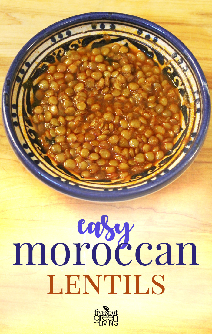 Easy Moroccan Lentils Recipe