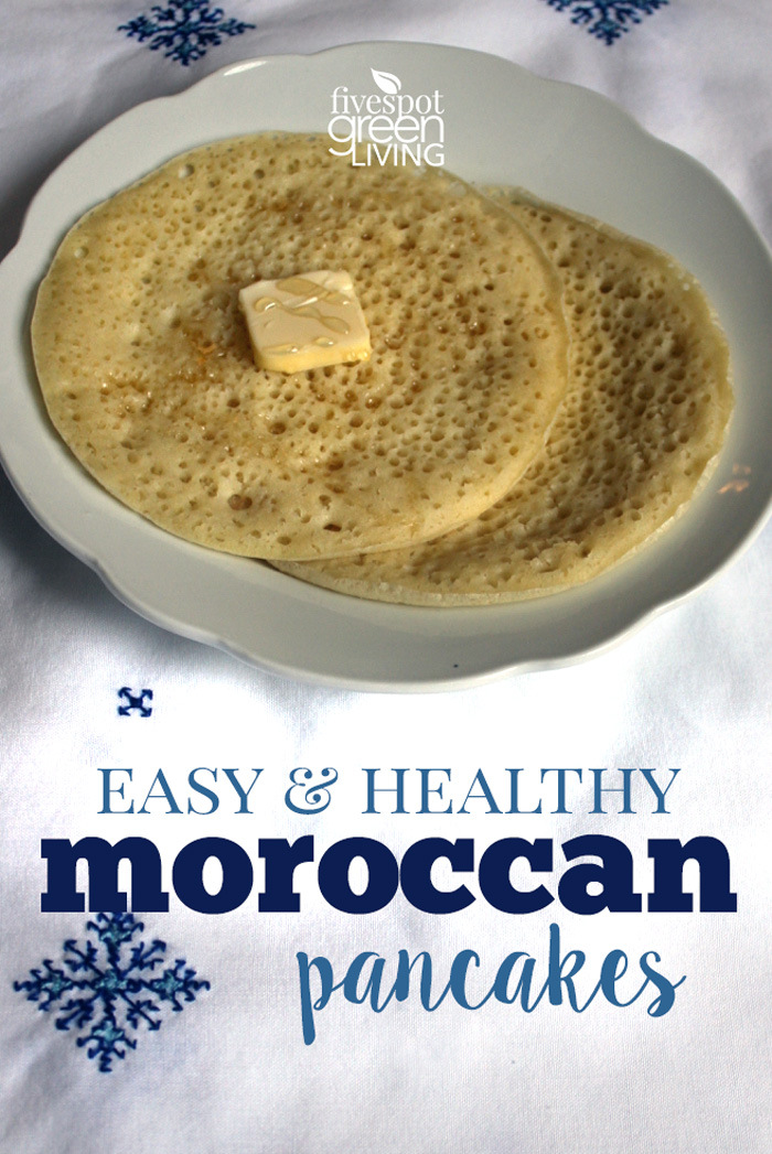 Homemade Moroccan Beghrir Pancakes