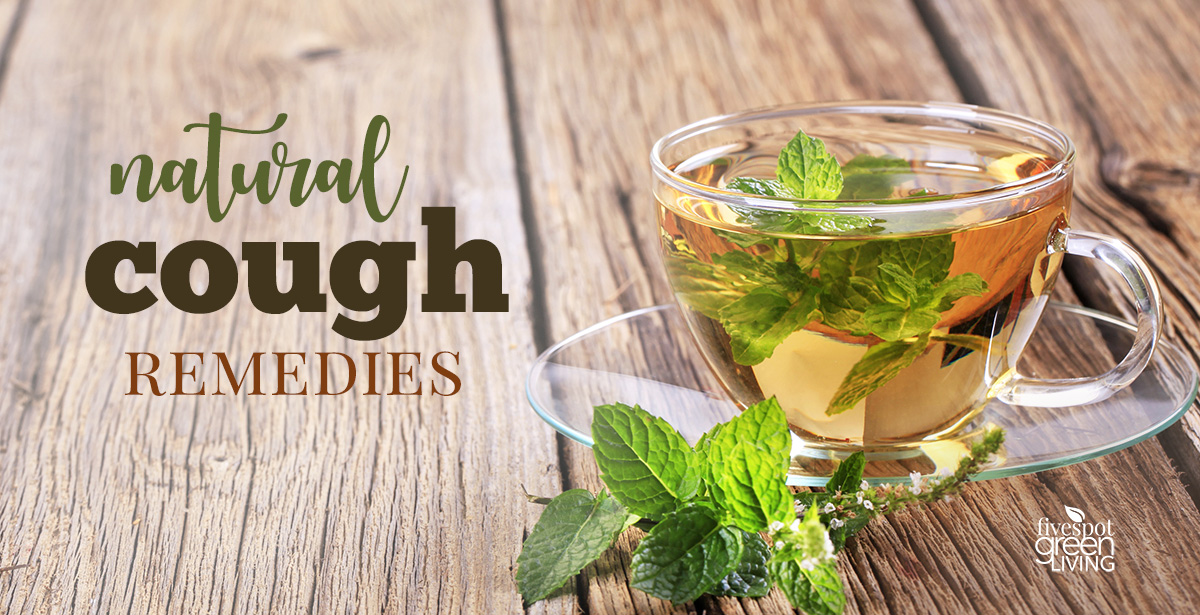 Peppermint tea and honey for cough remedy