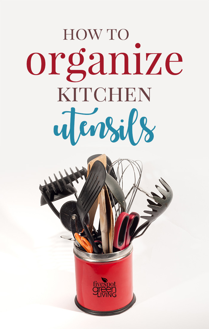 Container of Utensils - Best Ways to Organize Your Kitchen Utensils